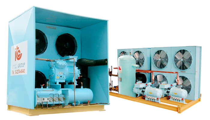 Air Cooled Condensing Unit (SAB) - Industrial Refrigeration, Freezing and Cold Storage Systems by ITC GROUP