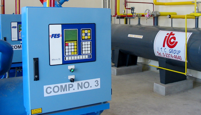 Compressor Control Panel - Industrial Refrigeration, Freezing and Cold Storage Systems by ITC GROUP