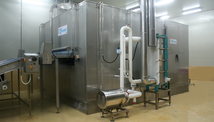 Fluidization Freezer (IQF.) - Industrial Refrigeration, Freezing and Cold Storage Systems by ITC GROUP