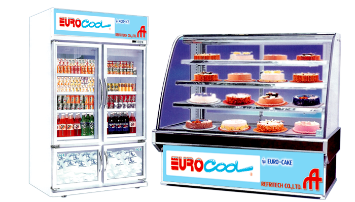 Glass Door Cabinets Display - Industrial Refrigeration, Freezing and Cold Storage Systems by ITC GROUP