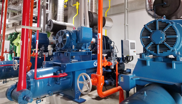 Package Screw Compressor - Industrial Refrigeration, Freezing and Cold Storage Systems by ITC GROUP